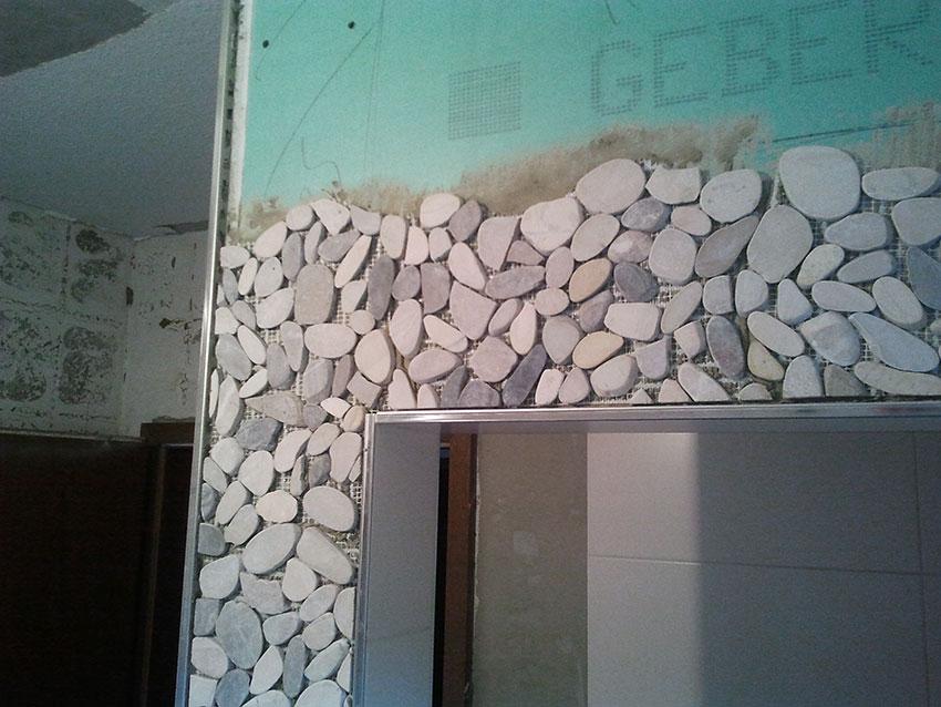 fliesen kieselstein optik im bad bad mosaik fliesen dune agata optik bathroom alben wohnen. Black Bedroom Furniture Sets. Home Design Ideas