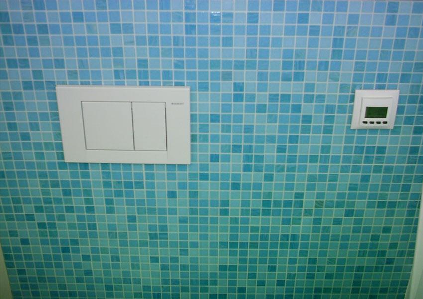 Galerie-Fliesen-Bischoff - Mosaik in Blautönen